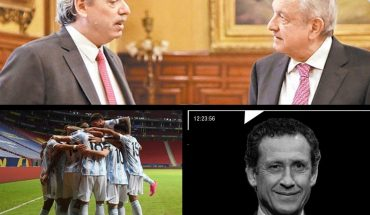 Argentina and Mexico convened their ambassadors to Nicaragua; More than a million vaccines arrived from AstraZeneca; Jorge Valdano in Caja Negra; Argentina vs. Argentina Paraguay: time, TV and probable formations; and so on...