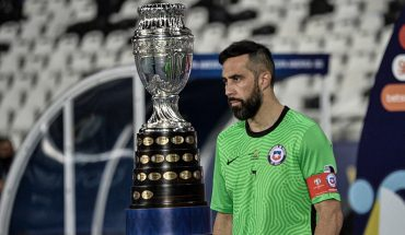 """Claudio Bravo: """"We are happy with the game we did against Argentina"""""""