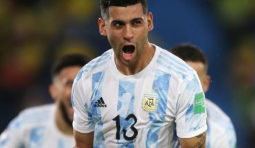 Cristian Romero suffered a muscle overload and is doubtful against Chile