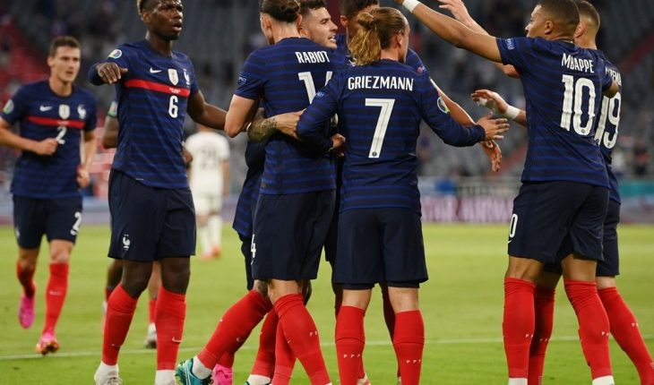 France beat Germany 1-0 and cut an unbeaten in European Championship