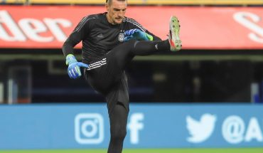 Franco Armani tested positive again and is not traveling to Colombia