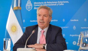 Malvinas: Sola asked the UN secretary to intercede with the United Kingdom