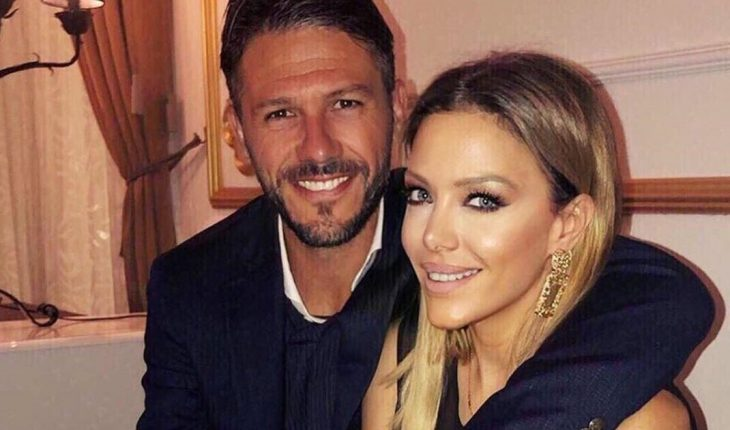 Martin Demichelis got a tattoo in honor of Evangelina Anderson