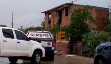 Albañil muere al sufrir descarga eléctrica y caer de lo alto de una casa en Lagunillas