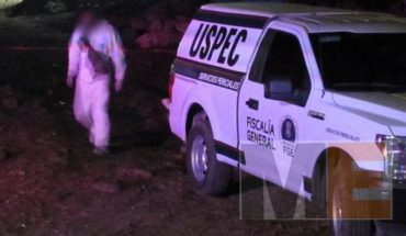 Murdered woman found in the vicinity of Ciudad Industrial, in Morelia