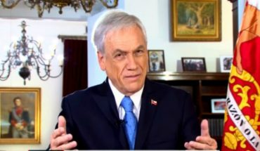 """Piñera reiterated defense to announcement for marriage equality: """"I have been evolving"""""""