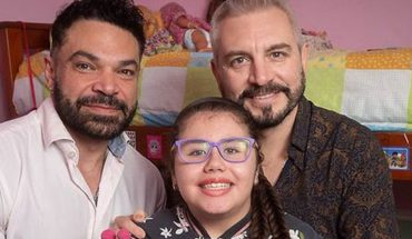 Two mendoza dads adopted a girl with leukemia who was abandoned