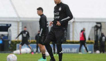 With Palacios at par, Scaloni has everyone available with Bolivia in mind