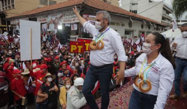 With closure in Uruapan, Alfredo Ramírez Bedolla calls for improved relationship between federation and state