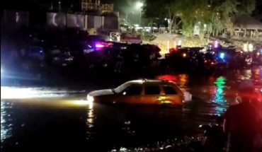 video. Family dies intoxicated in Culiacan River
