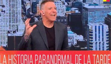 Alejandro Fantino relató la experiencia paranormal que vivió el fin de semana