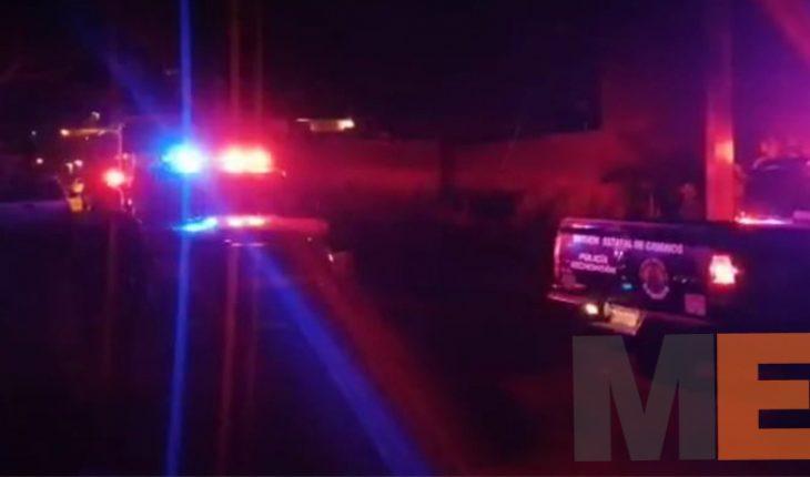 Automovilista es asesinado a tiros en la libre Uruapan-Lombardía