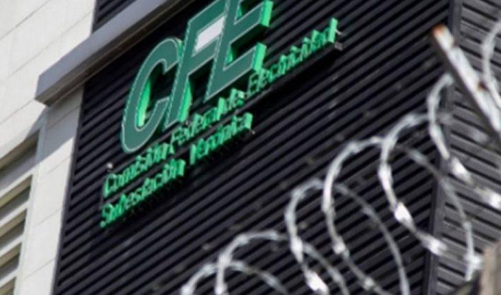 CFE paga 65 mdp por apagón masivo de 2021 en México