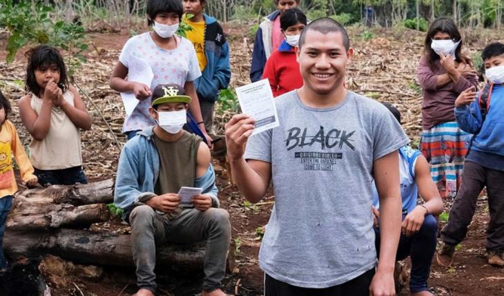 Cómo es la vacunación en Pozo Azul donde vive el pueblo mbyá guaraní