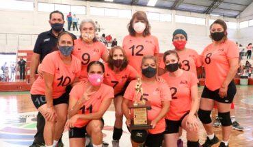 Concluye con éxito Festival Estatal Máster de Voleibol 2021