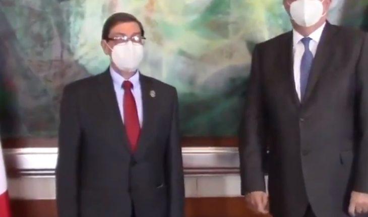 Critica HRW reunión de Marcelo Ebrard con canciller cubano