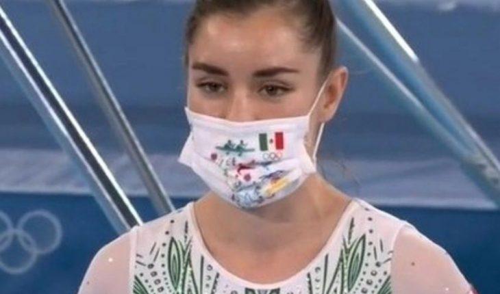 Dafne Navarro pierde en la final de gimnasia de trampolín