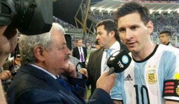 """De Tití Fernández a Lio Messi: """"Mi hija desde el cielo te lo agradece"""""""