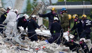 Derrumbe en Miami: asciende a 32 la cifra de muertos
