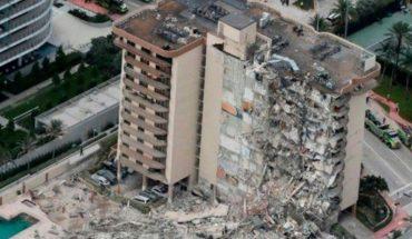 Derrumbe en Miami: un rescatista encontró el cuerpo de su hija bajo los escombros