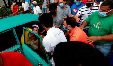 Díaz-Canel negó acusaciones de represión en protestas del domingo en Cuba