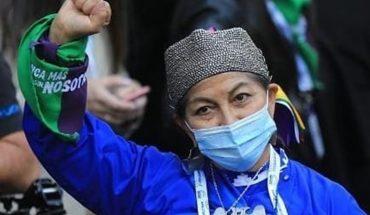 Elisa Loncón, la docente mapuche elegida presidenta de la Convención Constituyente de Chile