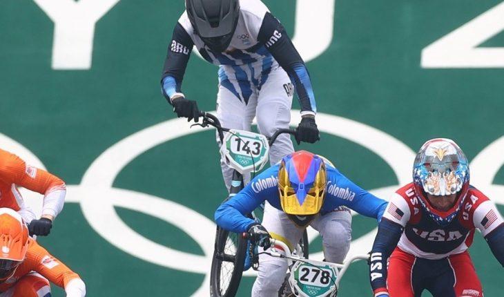 Exequiel Torres dejó todo y quedó a un punto de la final en BMX Racing