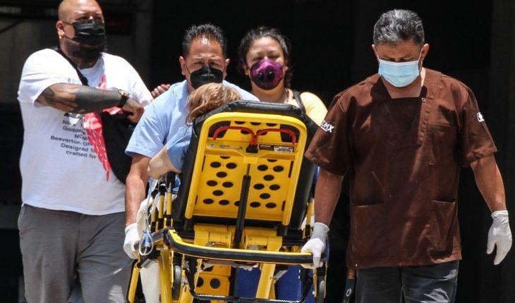 Finaliza julio con más de 18 mil casos COVID y 240 mil 906 muertes