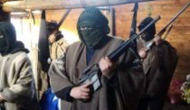 Gobierno anuncia querella por grupo armado en velorio de Pablo Marchant