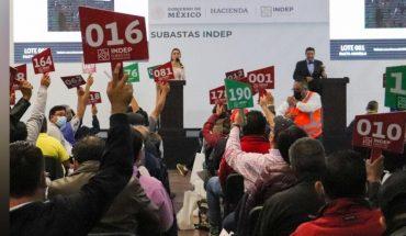 INDEP reúne 18.8 millones de pesos con subasta hoy 18 de julio
