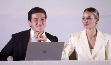 INE prevé multar a Samuel García por propaganda de su esposa