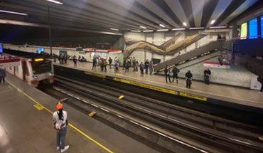 Inauguran nuevo mural en la estación de Metro San Alberto Hurtado