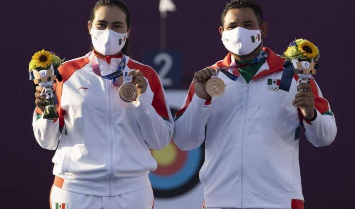 Logran atletas mexicanos primeras medallas para México en Tokio
