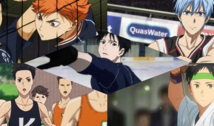 Los mejores animes de deporte para ver en los Juegos Olímpicos