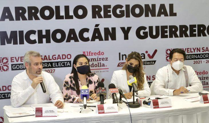 Michoacán, Guerrero y Colima acuerdan agenda conjunta para desarrollo del Pacífico