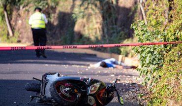 Muere motociclista en accidente