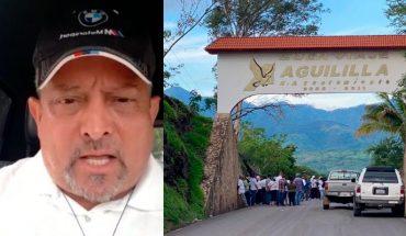 """Padre """"Goyo"""" pide apoyo para aguilillenses desplazados por la violencia"""