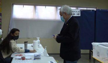 Piñera dijo estar confiado que candidato de Chile Vamos llegará a la segunda vuelta