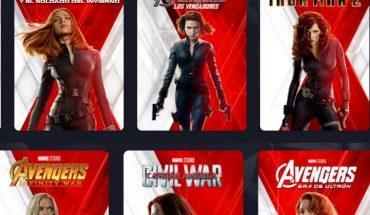 Por el estreno de Black Widow, Disney+ cambió las portadas de las películas
