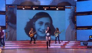 """Qué dijo """"Jujuy"""" Jiménez sobre la foto de Ana Frank que se usó en su coreografía"""