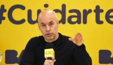 Rodríguez Larreta anuncia nuevas aperturas en la Ciudad de Buenos Aires
