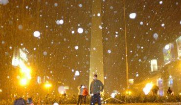 Un día como hoy, pero de 2007, en zonas inusuales de nuestro país nevaba