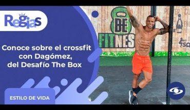 Conoce todo sobre el crossfit y cómo iniciar, según Dagómez, del Desafío The Box- Caracol TV