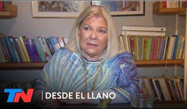 """ELISA CARRIÓ EN DESDE EL LLANO: """"Los muertos son mártires, murieron por la desidia"""""""