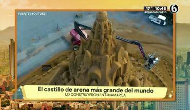 El castillo de arena más grande del mundo | La Bola del 6