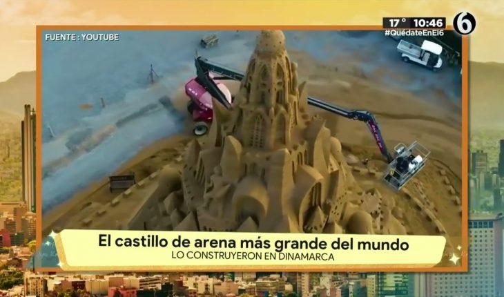 El castillo de arena más grande del mundo   La Bola del 6