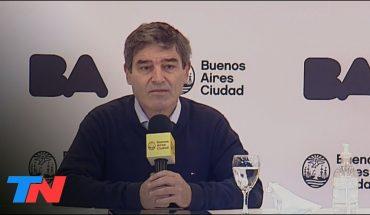 """El pasaporte sanitario, según Quirós: """"Es un instrumento a evaluar, pero todavía no es tiempo"""""""