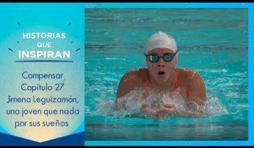 Jimena Leguizamón, una nadadora que transformó su vida gracias al talento, la disciplina y la pasión