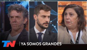 Paula Oliveto y Maximiliano Guerra en YA SOMOS GRANDES