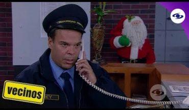 Vecinos: Mauricio ve a Óscar irrumpir en el apartamento de Tatiana - Caracol TV